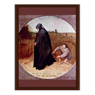 Misántropo por Bruegel D. Ä. Pieter (la mejor cali Postales
