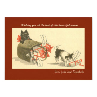 Misbehaving Holiday Card