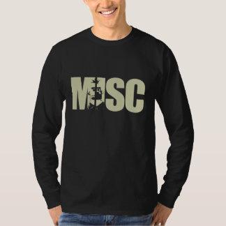 Misc Gold Text Shirt  - Customizable Guys/Girls