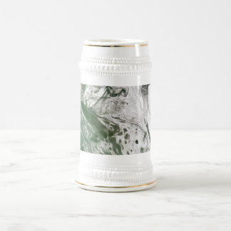Misc picture 8 - (psychadelic paper green & white) beer stein