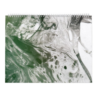 Misc picture 8 - (psychadelic paper green & white) calendar