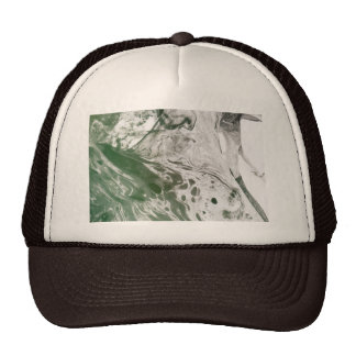 Misc picture 8 - (psychadelic paper green & white) trucker hat