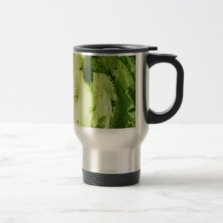 Misc picture 9 - (psychadelic paper green & white) travel mug