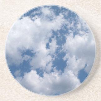 Misc Series---Clouds in a Blue Sky Sandstone Coaster