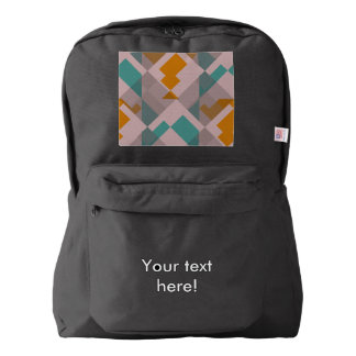 Misc shapes american apparel™ backpack