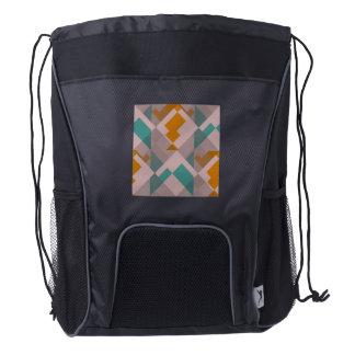Misc shapes drawstring backpack