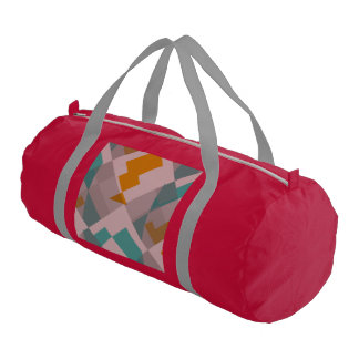 Misc shapes duffle bag
