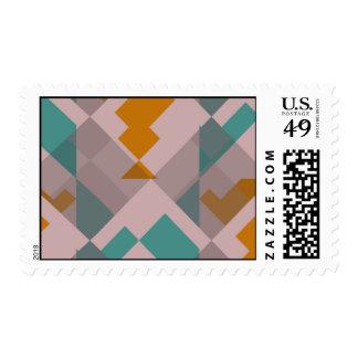 Misc shapes postage stamp
