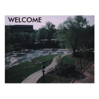 misc, WELCOME Postcard