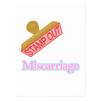 Miscarriage Postcard