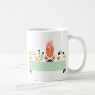 Miscellaneous - Abstract Colored Feathers Seven Coffee Mug