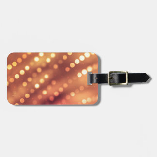 Miscellaneous - Abstract Glowing Fourteen Lights Bag Tag