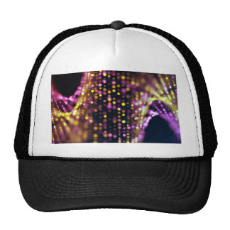 Miscellaneous - Abstract Glowing Nineteen Lights Trucker Hat