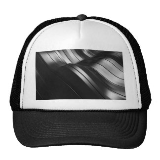 Miscellaneous - Abstract Glowing Waves Three Trucker Hat
