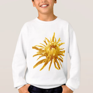 Miscellaneous - Abstract Gold Flowers Pattern Sweatshirt