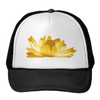 Miscellaneous - Abstract Gold Flowers Thirteen Trucker Hat