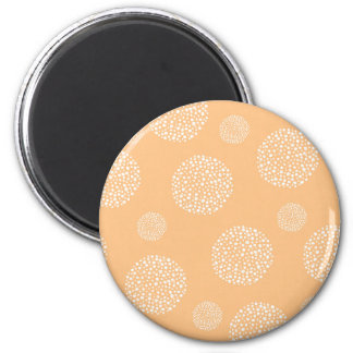 Miscellaneous - Abstract Lines Furnace 2 Inch Round Magnet