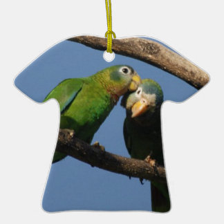 Miscellaneous - Amazon Parrot & KIS Pattern Double-Sided T-Shirt Ceramic Christmas Ornament