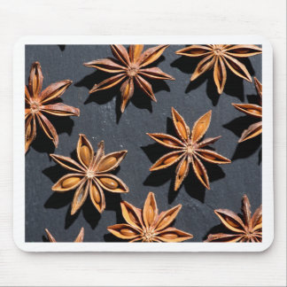 Miscellaneous - Anisates Stars & Black Pattern Mouse Pad