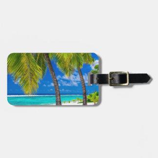 Miscellaneous - Beach & Palm Trees Fourteen Luggage Tag