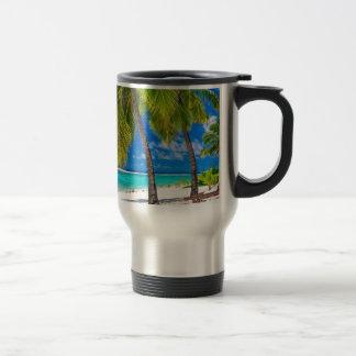 Miscellaneous - Beach & Palm Trees Fourteen Travel Mug