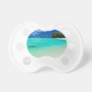 Miscellaneous - Beach & Palm Trees Sixteen Pacifier