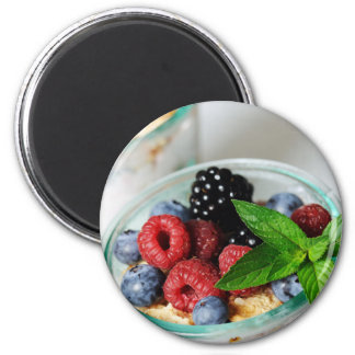 Miscellaneous - Berries Three 2 Inch Round Magnet