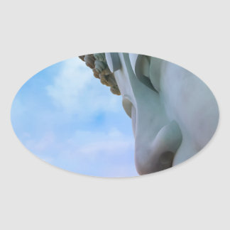 Miscellaneous - Bhudda Eight Oval Sticker