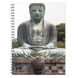 Miscellaneous - Bhudda Fourteen Spiral Notebook