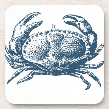 Professional Business Miscellaneous - Blue Vintage: Crab Coaster