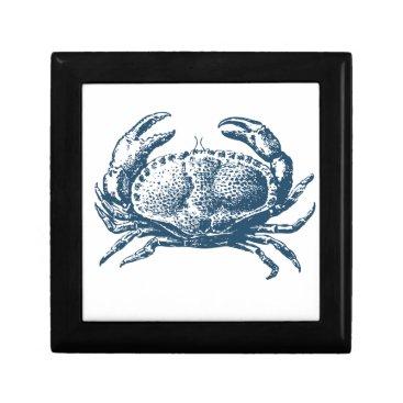 Professional Business Miscellaneous - Blue Vintage: Crab Keepsake Box