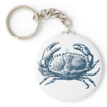 Professional Business Miscellaneous - Blue Vintage: Crab Keychain