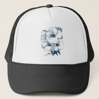 Miscellaneous - Blue Vintage: Lovely Flowers Trucker Hat