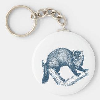 Miscellaneous - Blue Vintage: Marten Keychain