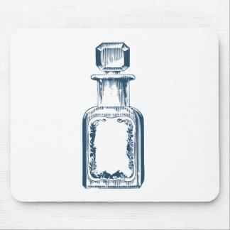 Miscellaneous - Blue Vintage: Perfume Bottle Mouse Pad
