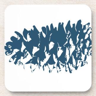 Miscellaneous - Blue Vintage: Pinecone Posavasos