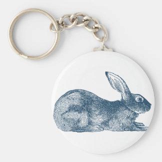 Miscellaneous - Blue Vintage: Rabbit Keychain