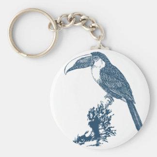 Miscellaneous - Blue Vintage: Toucan Keychain