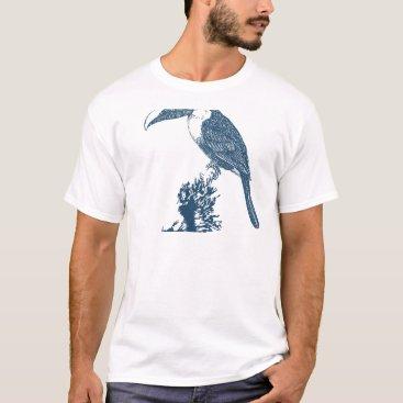 Professional Business Miscellaneous - Blue Vintage: Toucan T-Shirt