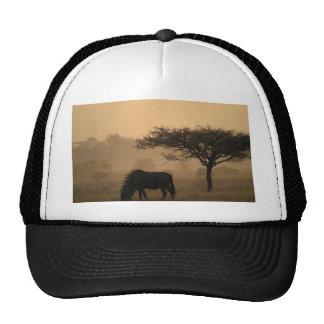 Miscellaneous - Blue Wildebeest & Natural Pattern Trucker Hat