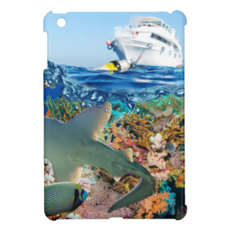 Miscellaneous - Boat & Coral Reef Pattern Eighteen Case For The iPad Mini