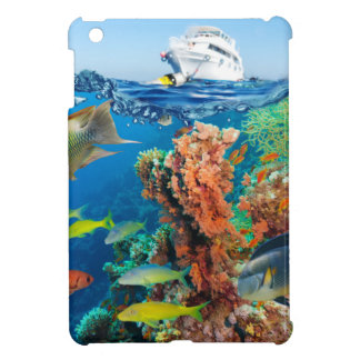 Miscellaneous - Boat & Coral Reef Pattern Nineteen iPad Mini Covers