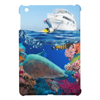 Miscellaneous - Boat & Coral Reef Pattern Thirteen Case For The iPad Mini
