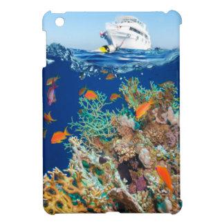 Miscellaneous - Boat & Coral Reef Patterns Eleven iPad Mini Case