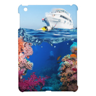 Miscellaneous - Boat & Coral Reef Patterns Fifteen iPad Mini Covers