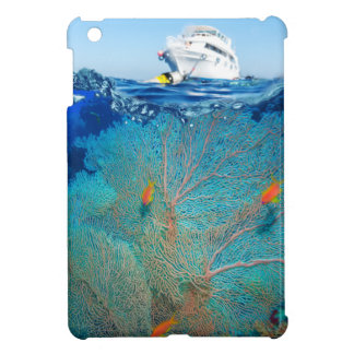 Miscellaneous - Boat & Coral Reef Patterns Nine Case For The iPad Mini
