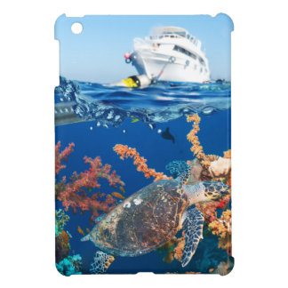 Miscellaneous - Boat & Coral Reef Patterns Seven iPad Mini Cover