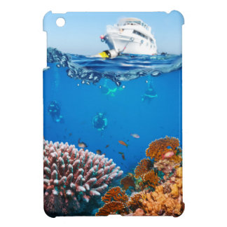 Miscellaneous - Boat & Coral Reef Patterns Six iPad Mini Case
