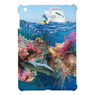 Miscellaneous - Boat & Coral Reef Patterns Sixteen iPad Mini Covers