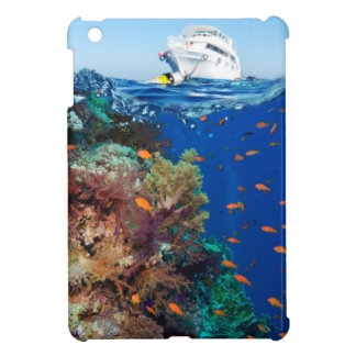 Miscellaneous - Boat & Coral Reef Patterns Ten Cover For The iPad Mini